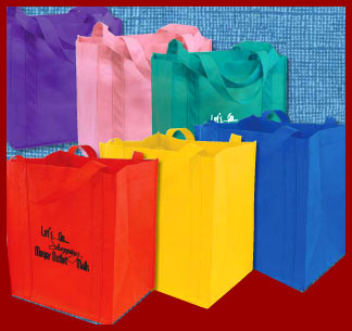 grocery tote bags printed