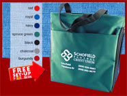technology and conference totes custom printed